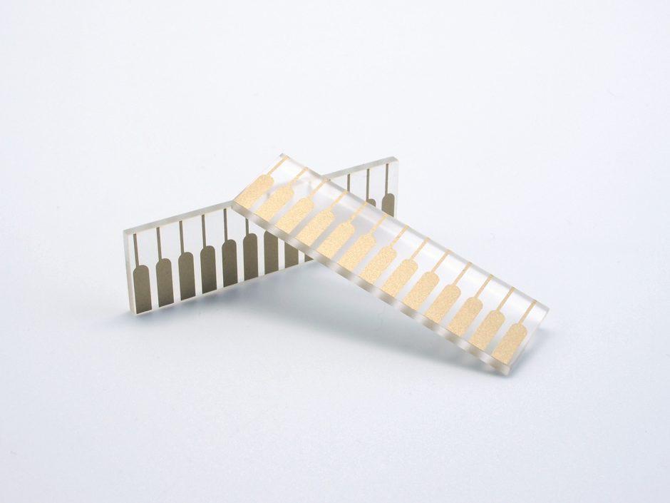 TFA acrylic edge connector