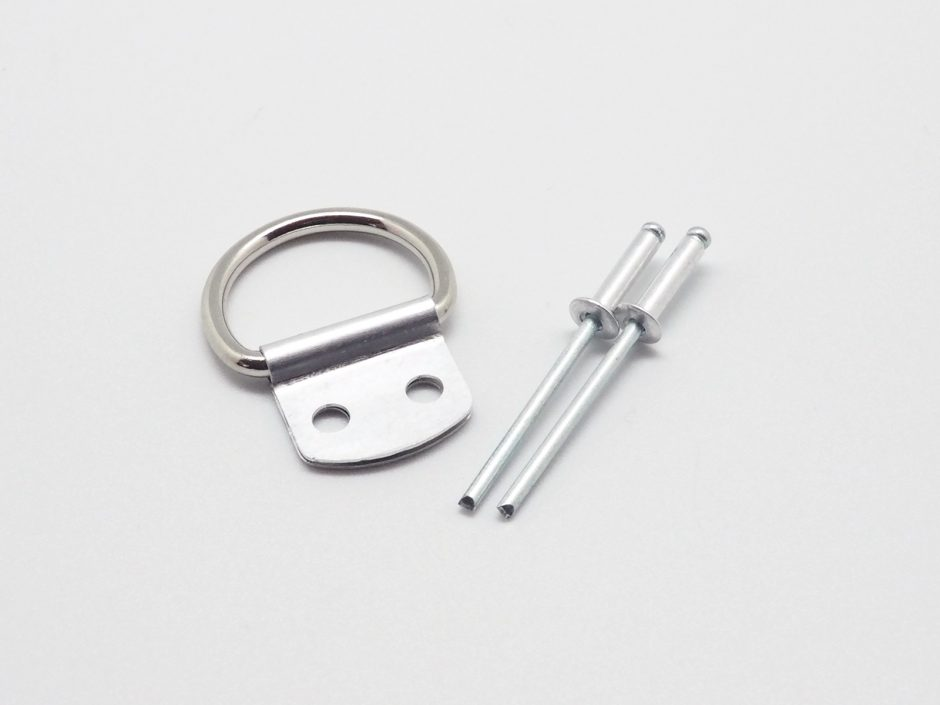 ANH D-ring with aluminium clip